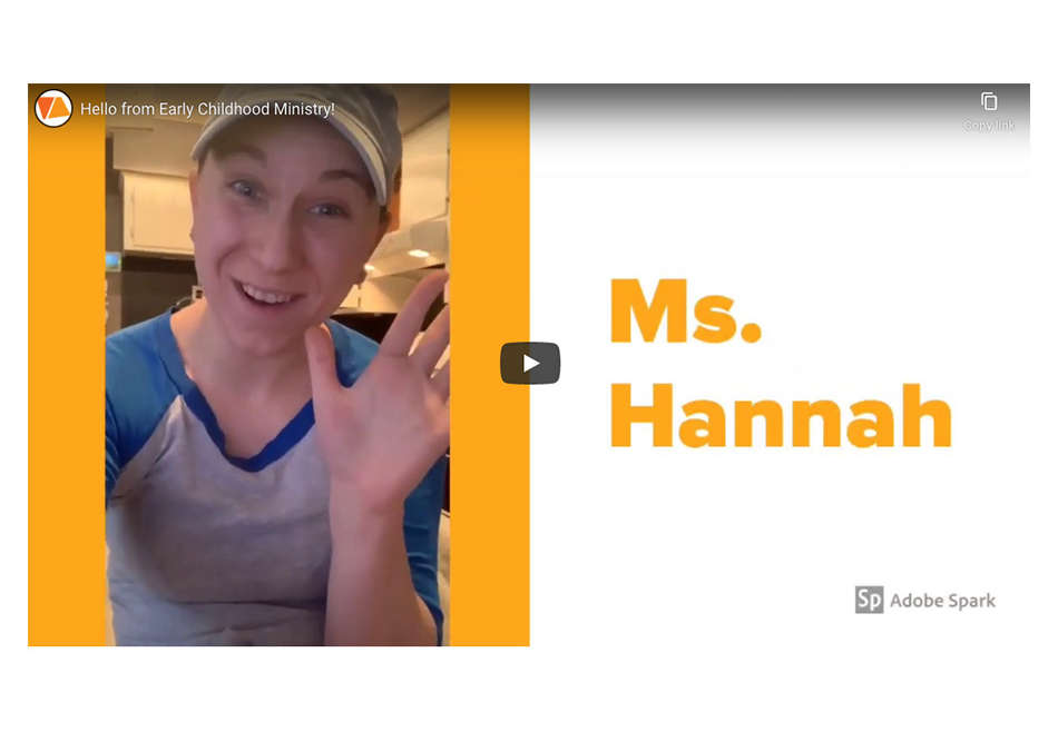 Message from Ms. Hannah – March 24