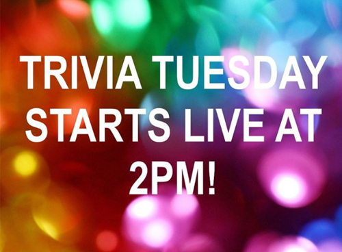 Middle School Trivia Tuesday – March 31