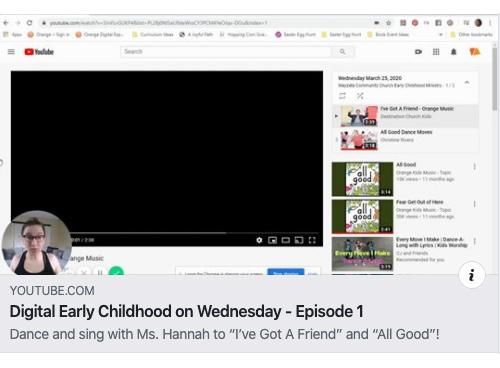 Digital Early Childhood on Wednesday – Episode 1